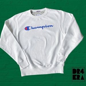 Champion Spell-Out Sweater